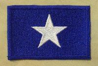 confederate flag - bonnie blue flag - patch - excellent quality