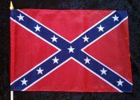 confederate graveside flag