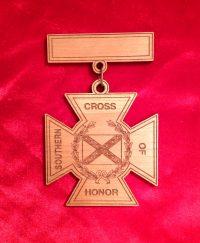 wood cross of honor