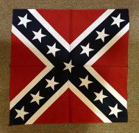 Confederate flag bandanna
