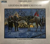 2016 legends in gray calendar