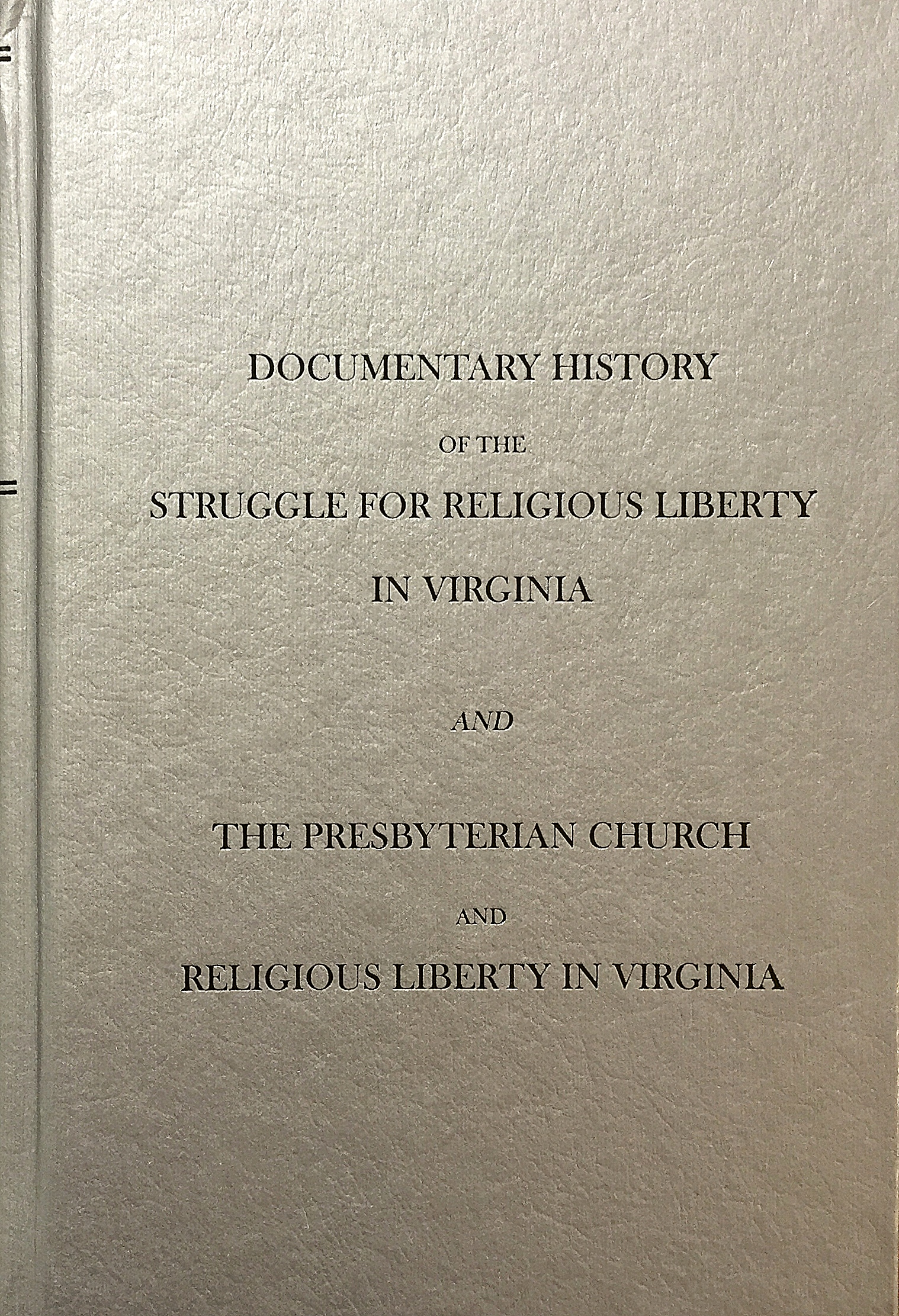 Essays on liberty civil and religious