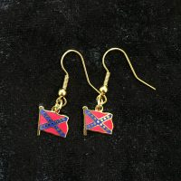 confederate earrings