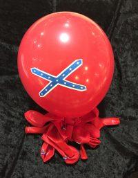 confederate flag balloons