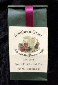 spiced fruit herbal tea