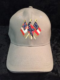 Confederate States flags hat