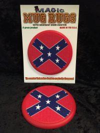 confederate mug rug