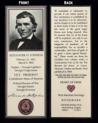 alexander stephens bookmark