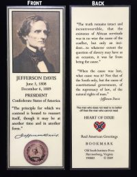 jefferson davis bookmark