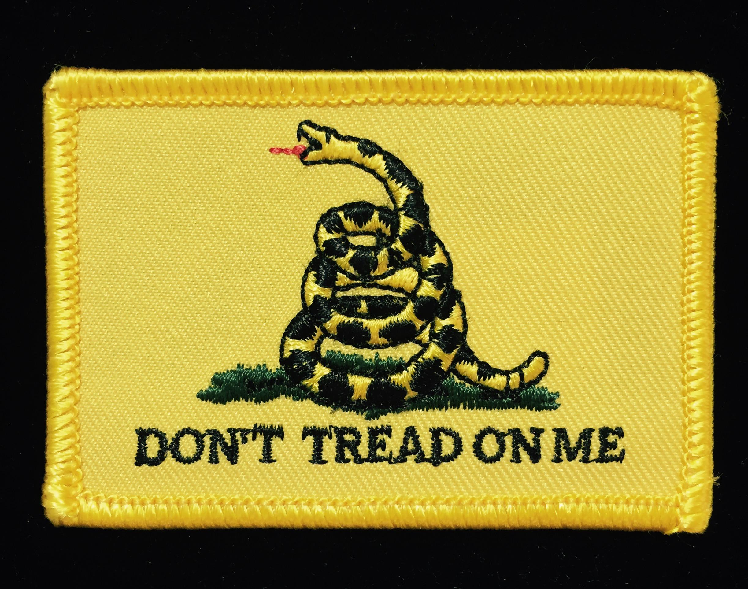 gadsden flag patch confederate shop
