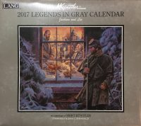 Legends in Gray Calendar