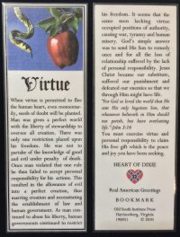 virtue bookmark