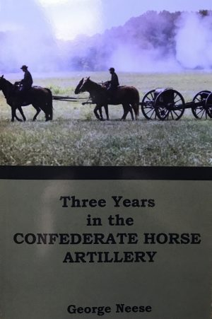 three years in the confederate horse artillery