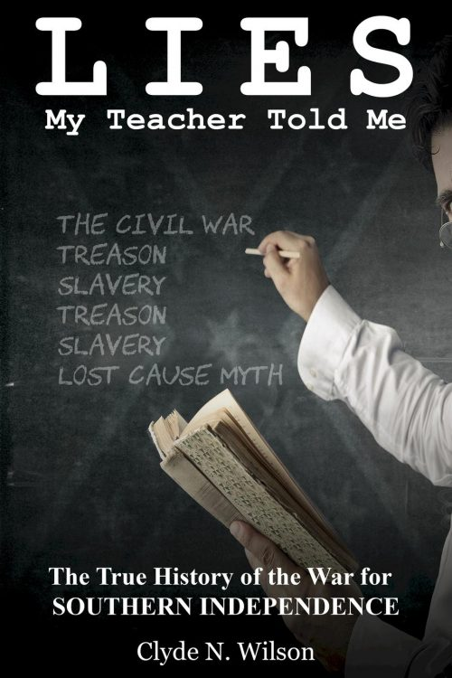 the creative writing lies my teacher told me Re: lies my teacher told me: the true history of the war for southern independance the csa had a reasonable chance to win and reasonable cause it was a just war, imo.